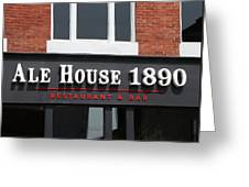 Ale House Greeting Card