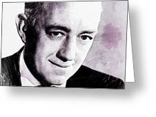Alec Guinness Greeting Card