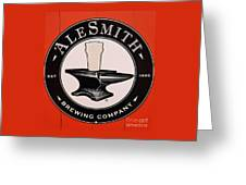 Alesmith Sign, Newport R. I. Greeting Card