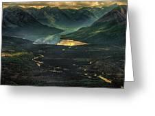 Aleutian Dip Greeting Card
