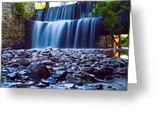Alexahucen Creek  Greeting Card