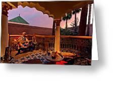Alexander Tour Morocco 12 Greeting Card