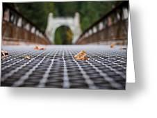 Alexandra Bridge Greeting Card
