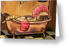 Alexs Ablutions Greeting Card