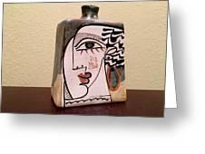 Alfajar Vase Greeting Card