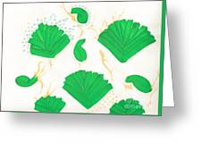 Algae Blooms Greeting Card