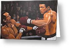 Ali Vs Foster Greeting Card