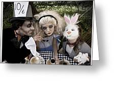Alice And Friends 2 Greeting Card