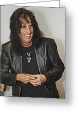 Alice Cooper Happy Greeting Card