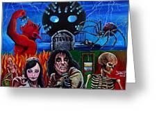 Alice Cooper Nightmare Greeting Card