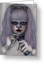 Alice In Another World Greeting Card