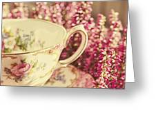 Alice's Breakfast Greeting Card