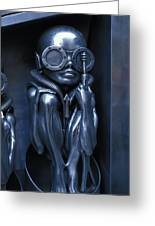 Alien Baby By Giger Greeting Card