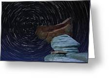 Alien Communication Greeting Card