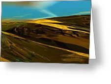 Alien Landscape 2-28-09 Greeting Card