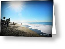 Aliso Viejo Beach Greeting Card