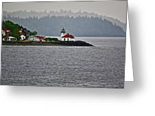 Alki Point  Greeting Card