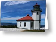 Alki Point Light Greeting Card