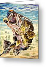 All About The Bass Greeting Card