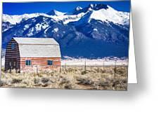 All American Barn Greeting Card