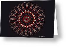 All Arrows Hit The Bullseye Greeting Card