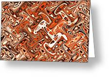 All Art Abstract #3  Greeting Card