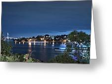 All Lit Up Greeting Card