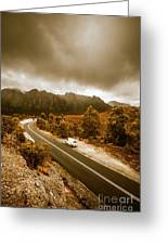 All Roads Lead To Adventure Greeting Card