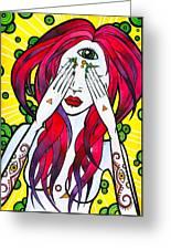 All-seeing Eye Greeting Card