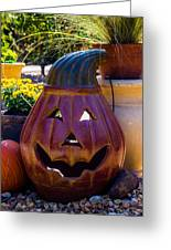 All Smiles For Halloween Greeting Card
