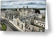 All Souls College - Oxford University Greeting Card