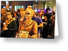 All Souls Procession Tucson 3 Greeting Card