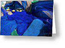 All The Blue Of The Sea Greeting Card