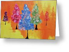 All The Pretty Colors II Greeting Card
