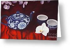 All The Tea In China Greeting Card