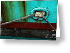 All Tied Up Greeting Card