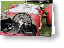 Allard J2 Racer. Greeting Card