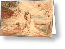 Allegorical Subject Greeting Card