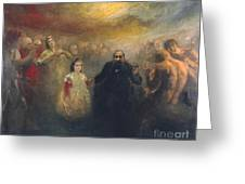 Allegory Of Doctor Robert Greeting Card