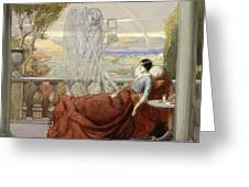 Allegory Of Tuberculosis, 1912 Greeting Card