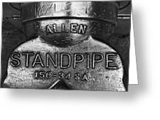 Allen Standpipe Greeting Card
