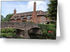 Allerford - England Greeting Card