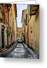 Alley In Avignon Greeting Card
