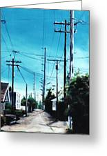 Alley No. 1 Greeting Card