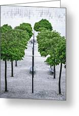 Alley Of Perfectionists Greeting Card