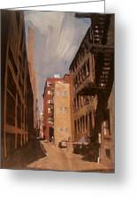 Alley Series 1 Greeting Card