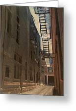 Alley Series 5 Greeting Card