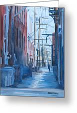 Alley Shortcut Greeting Card