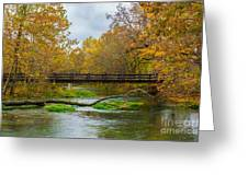 Alley Spring River Greeting Card