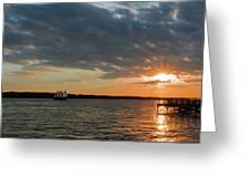 Alliance Sunset Sail Greeting Card
